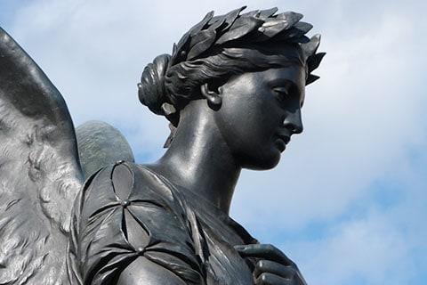 Angel statue Dublin