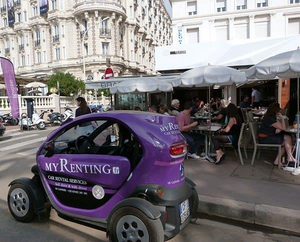 Cannes little car