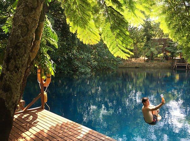 Nantas blue hole Vanuatu