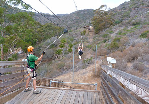 Catalina Zip Lining