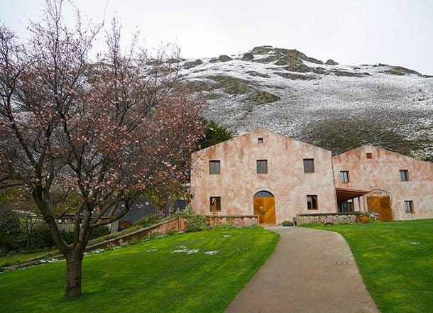 Chard farm winery Queenstown