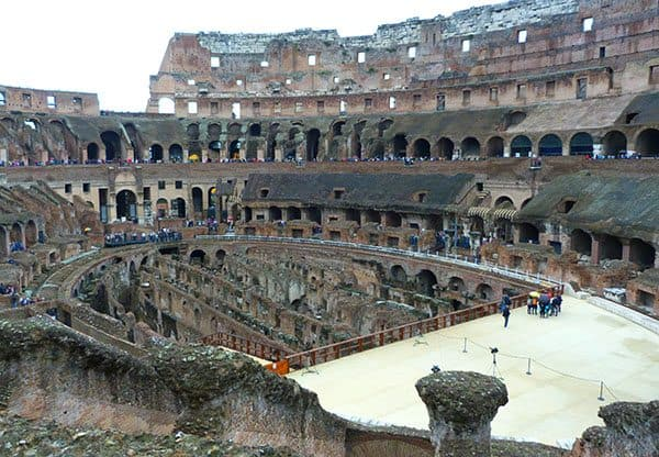 Visit Rome colosseum
