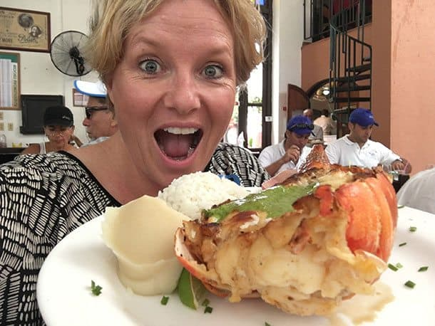 Lobster Cuba