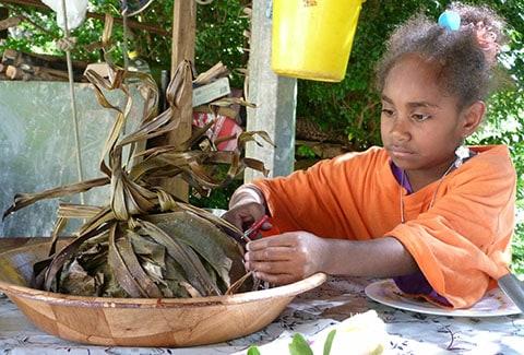 New Caledonia bougna