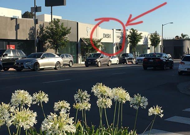 Kardashians store LA