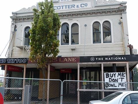 Christchurch earthquake building