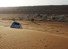 Dune bashing at Desert Nights Camp