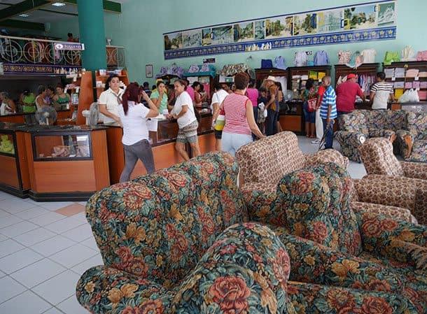 Furniture store cuba