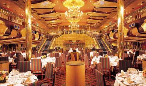 Carnival dining room