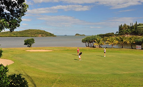 New Caledonia golf course