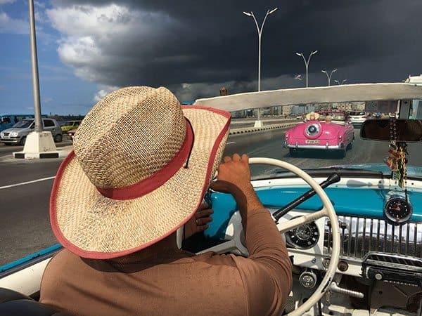 Classic car in Cuba