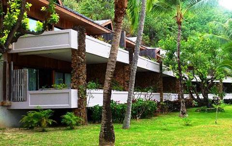 Hilton Bora Bora garden room