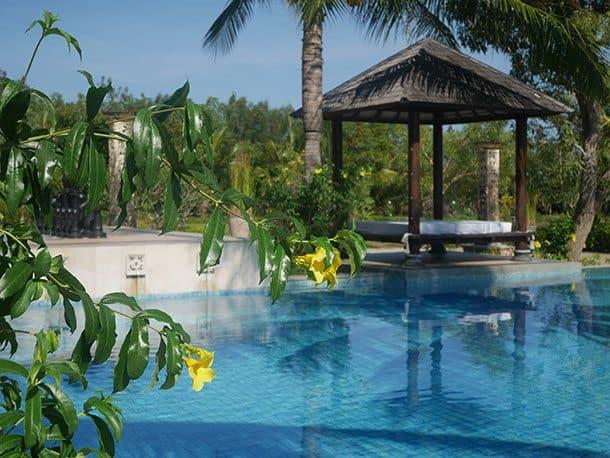 Pool at Jayakarta hotel