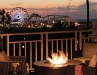 Luxury on the beach: Loews, Santa Monica