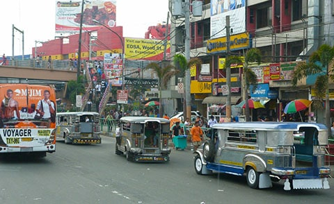 Manila, jeepneys