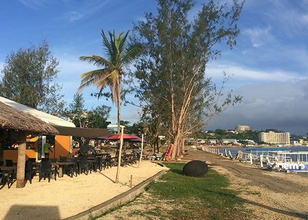 Dining in Port Vila
