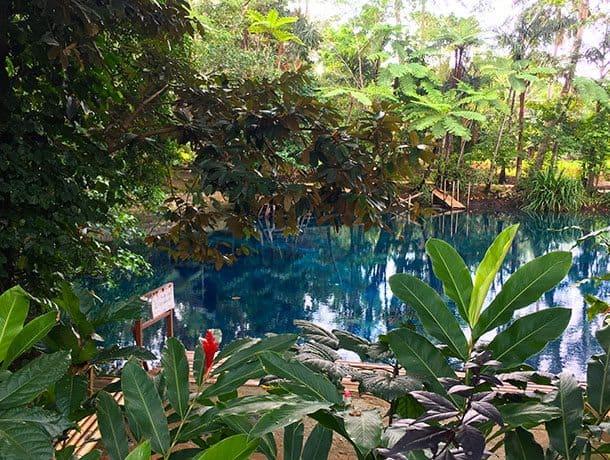 Nanda's blue hole, Santo Espiritu