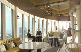 Pan Pacific club lounge