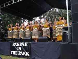 Waitangi Day Maori performers