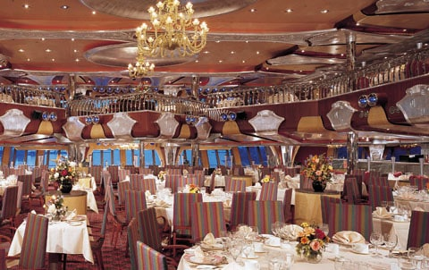 Carnival cruise ship dining