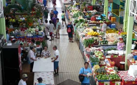Tahiti market