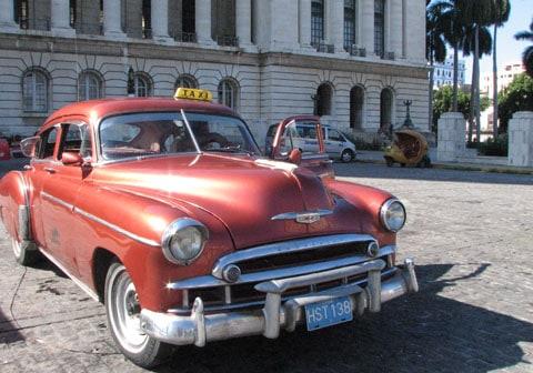 Taxi in Cuba