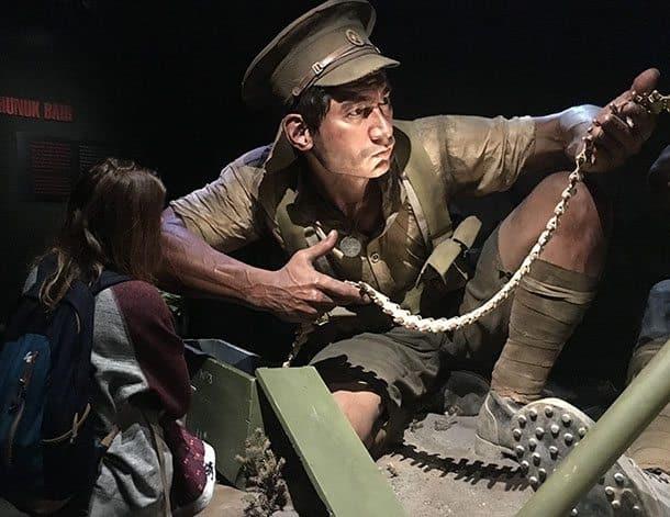 Te Papa WWI Gallipoli exhibit