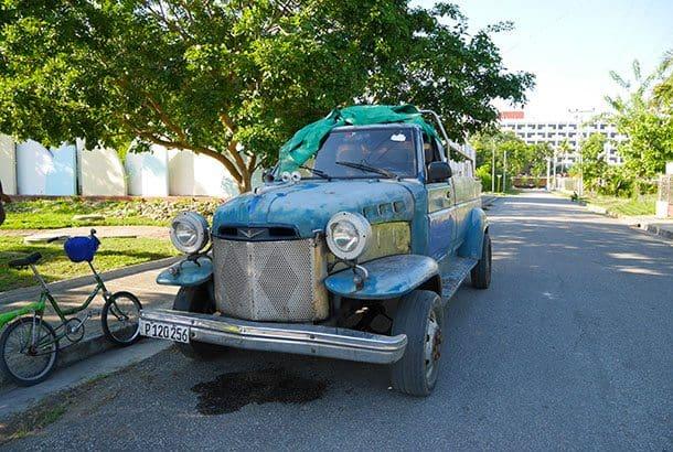 Cuba truck