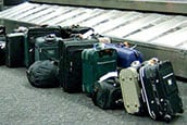 Unclaimed luggage