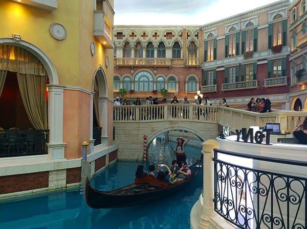 Venetian shops Macau