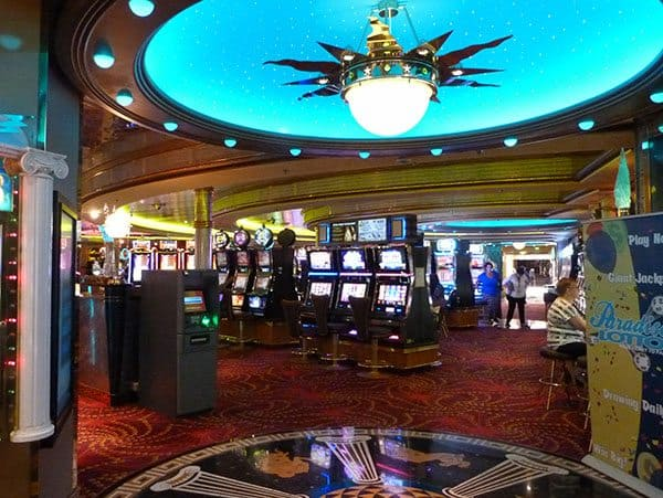 Vision of the Seas casino
