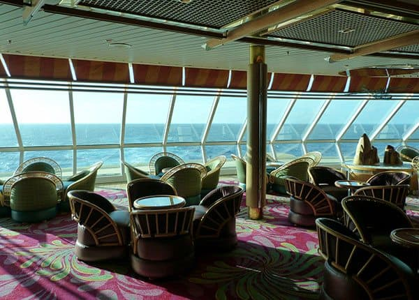 Vision of the Seas enchanted bar
