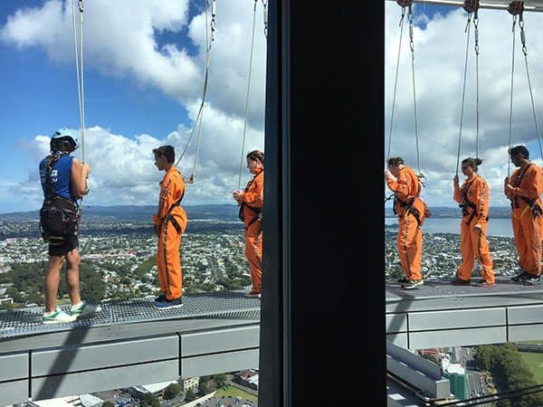 Sky Tower walk