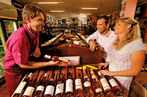 New Caledonia wine tasting