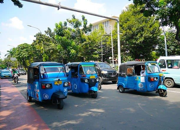 Jakarta taksi