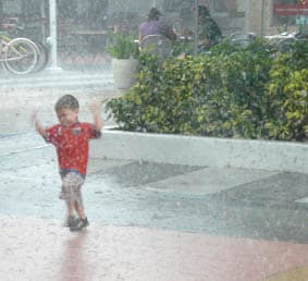 Rainy seasons around the world