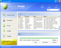 Security Shield Screenshot