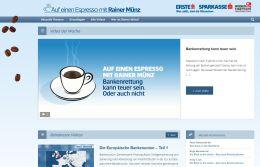 Auf einen Espresso mit Rainer Münz