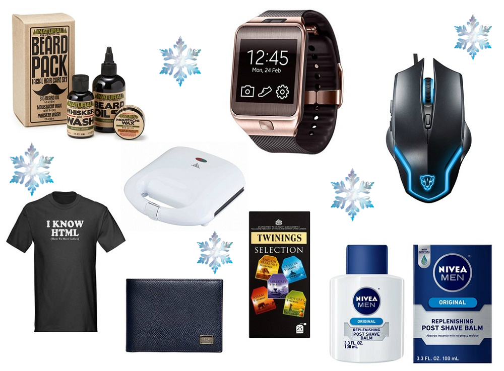 Gifts for Him - Christmas time on Bloggerissa 1