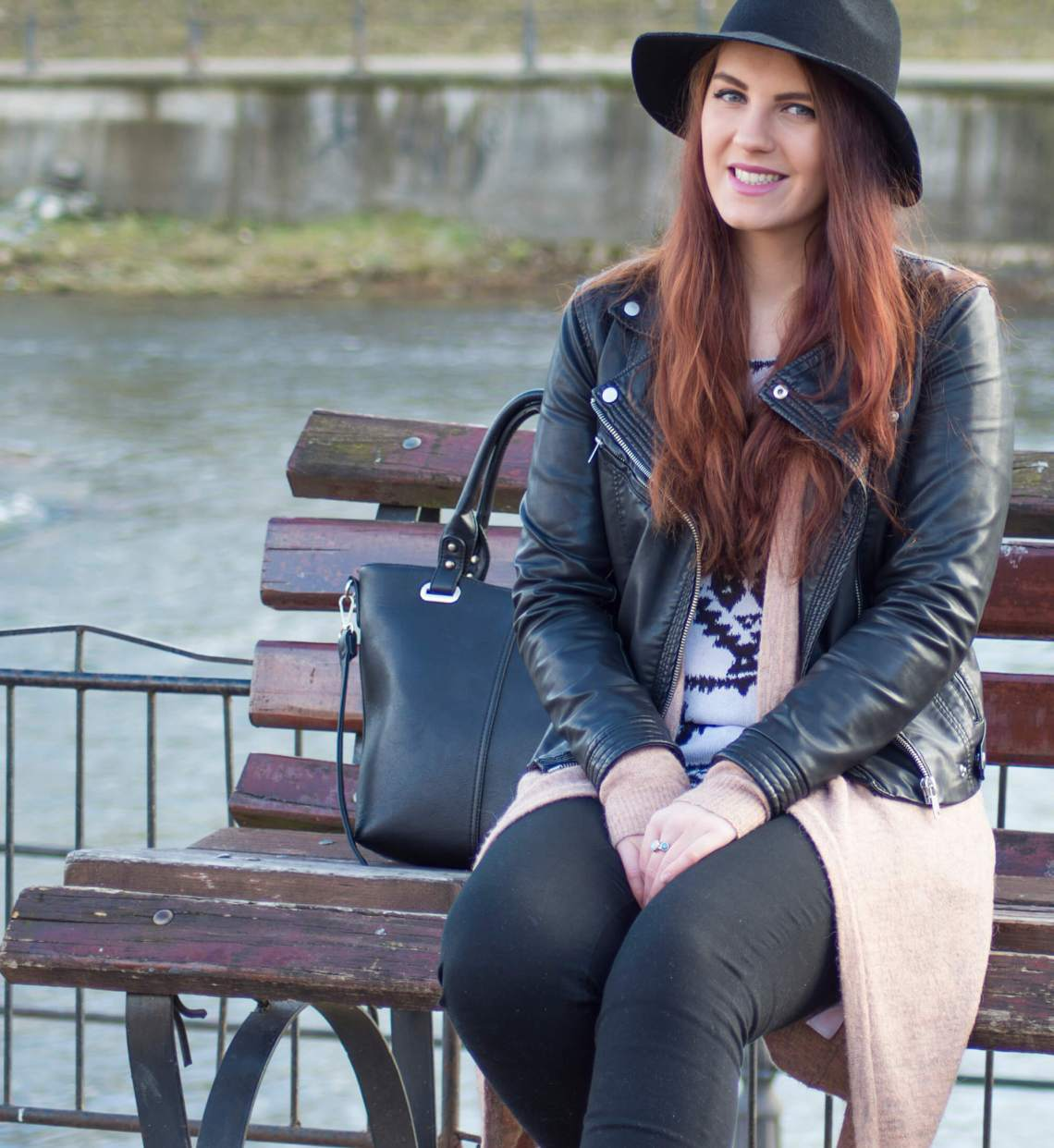 spring outfit - black and white urban look (1)