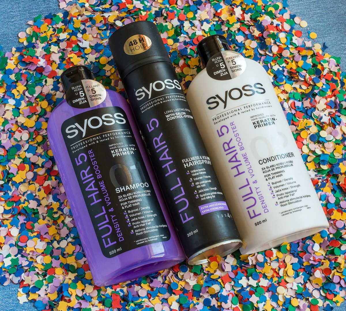 My Hair Care Routine with Syoss Full Hair 5