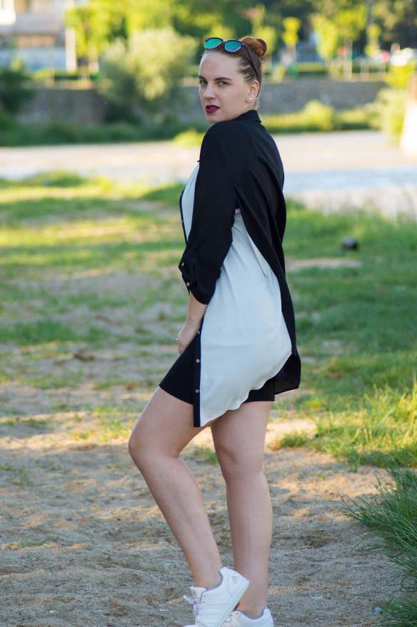 ootd edgy look - 5 ways to look more confident (5)