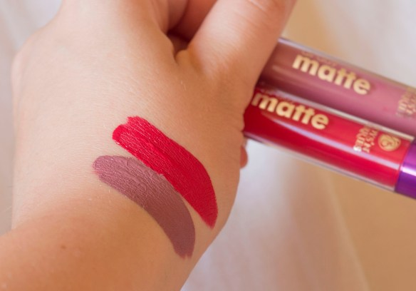 Boys'n'Berries All Day Matte Liquid Lipsticks - Aria and Red Sonja