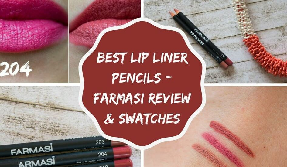 Best Affordable Lip Liner Pencil – Farmasi Review & Swatches