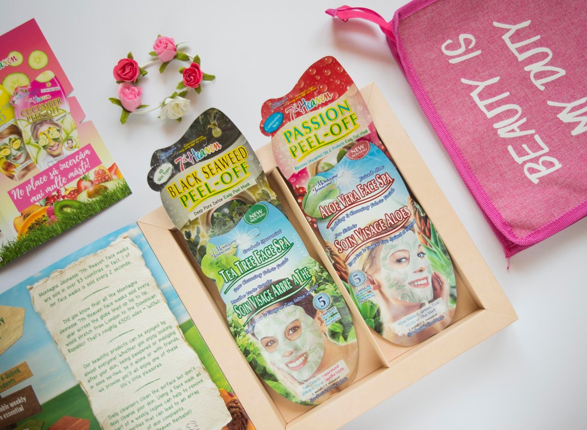 Review + GIVEAWAY: 7th Heaven Face Masks (Fabric & Peel Off Masks)