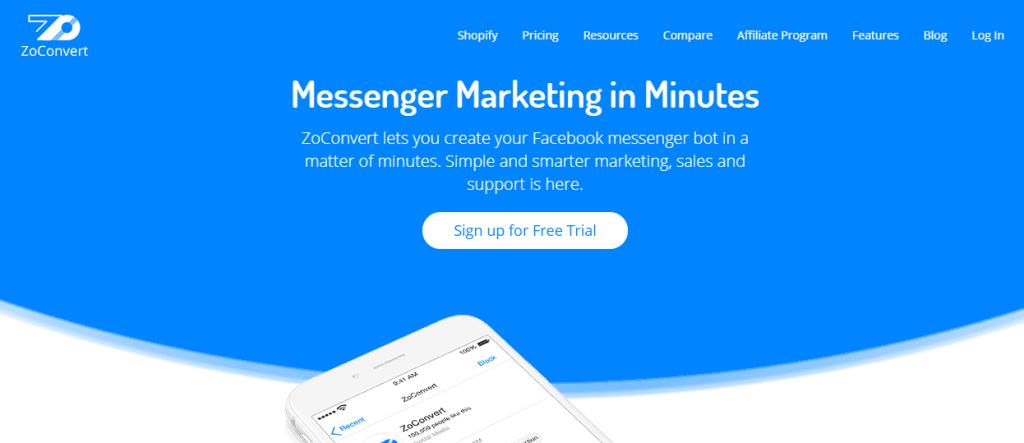 zoconvert-messenger-bot-platform