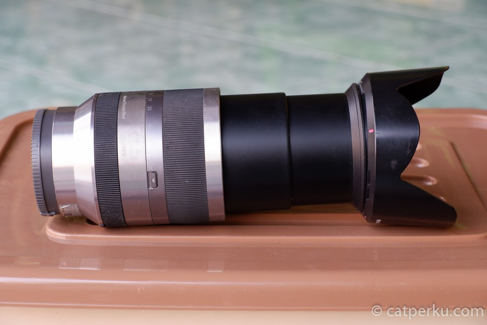 Jual Lensa Sapu Jagat Sony SEL E 18–200mm F3.5–6.3 OSS LE6,5jt