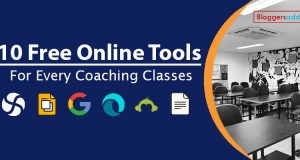 10 Free Online Tools for Every Coaching Classes