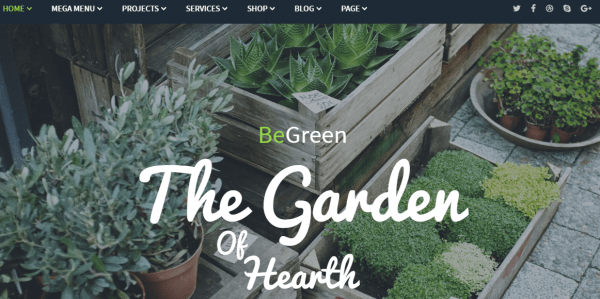 Best Landscaping, Gardening WordPress Themes & Templates