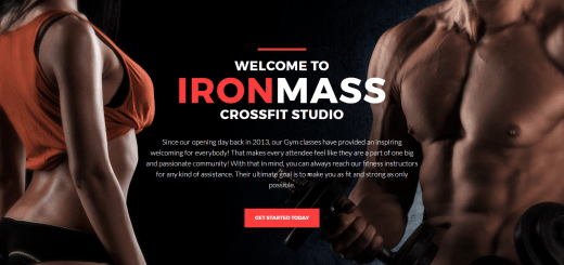 Ironmass - Gym Fitness WordPress Theme
